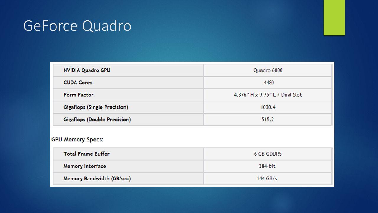 GeForce Quadro