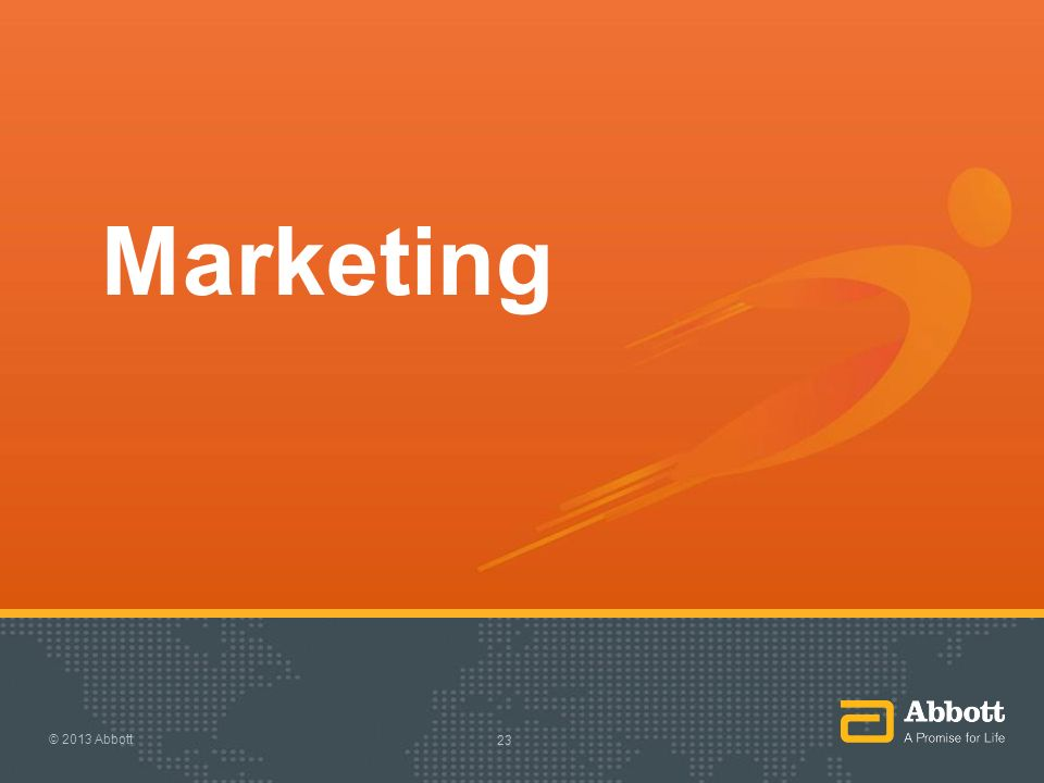 Marketing © 2013 Abbott