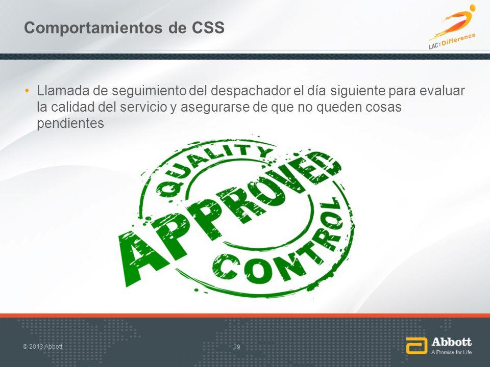 Comportamientos de CSS