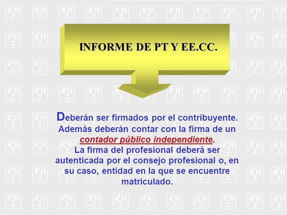 Contenido del Informe Las actividades y funciones desarrolladas por el contribuyente.