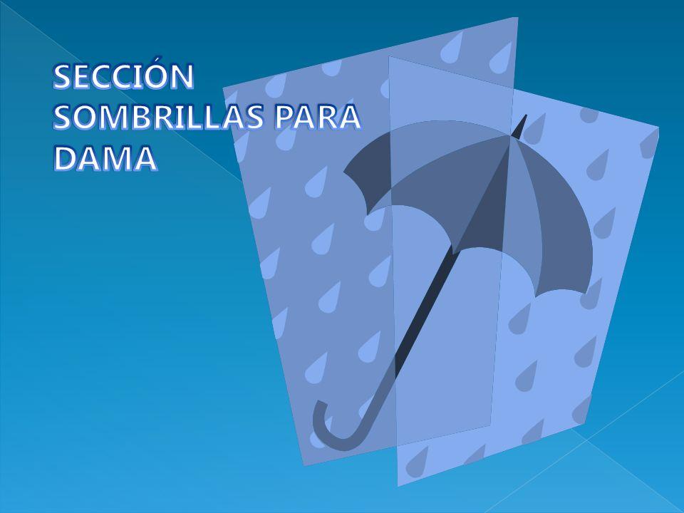 SECCIÓN SOMBRILLAS PARA DAMA