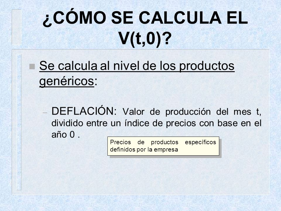 ¿CÓMO SE CALCULA EL V(t,0)