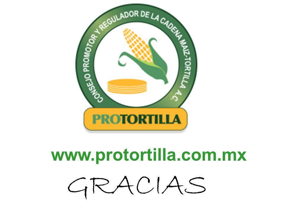 www.protortilla.com.mx GRACIAS