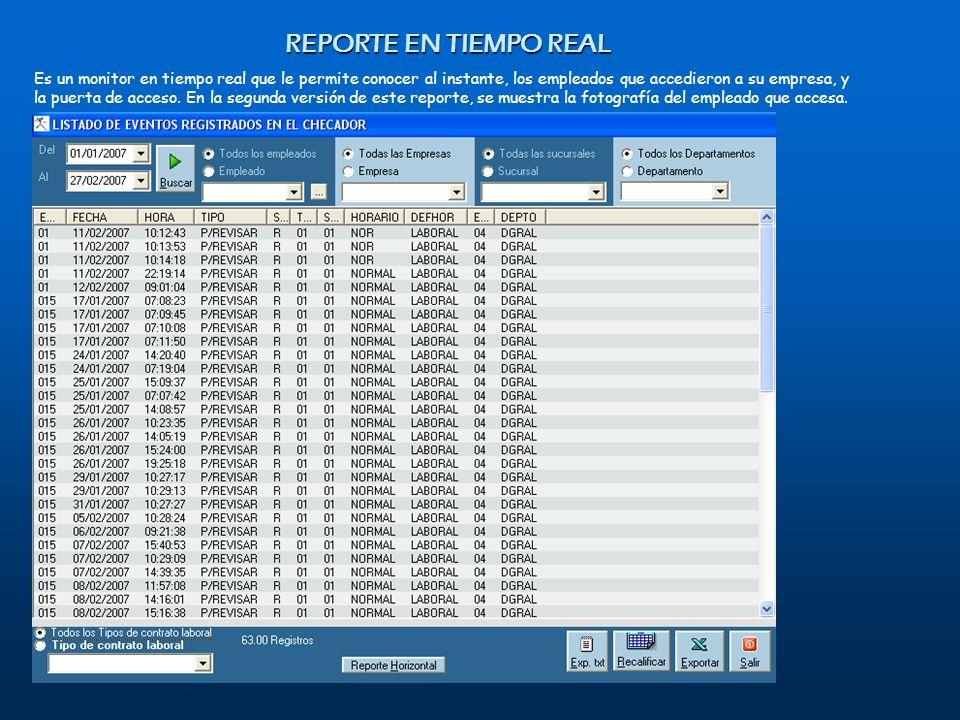 REPORTE EN TIEMPO REAL February 07
