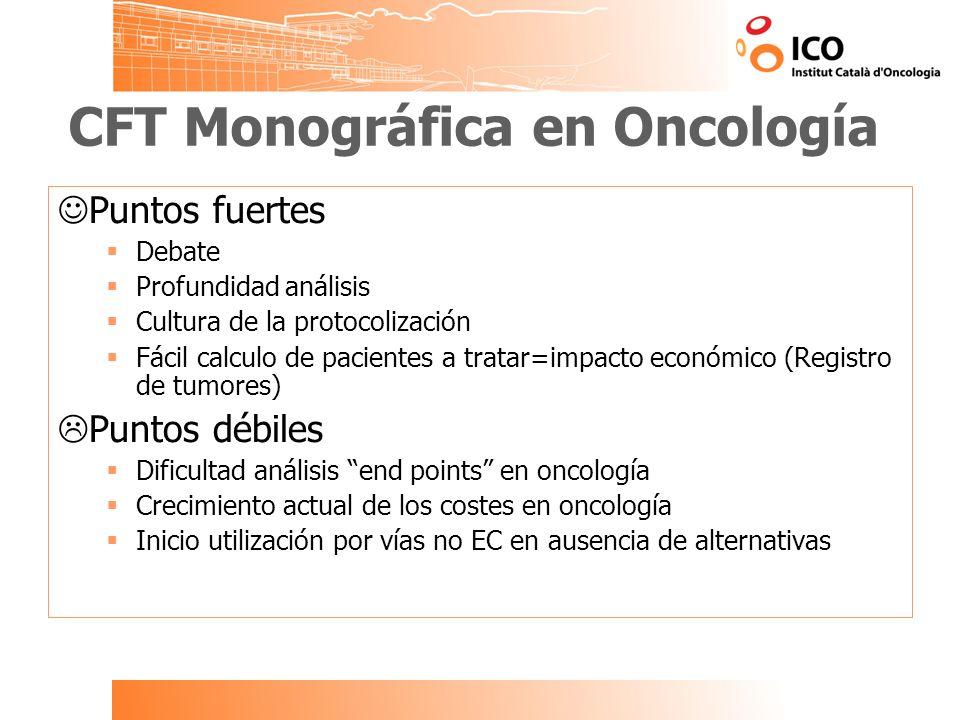 CFT Monográfica en Oncología