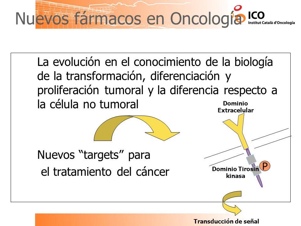 Nuevos fármacos en Oncología