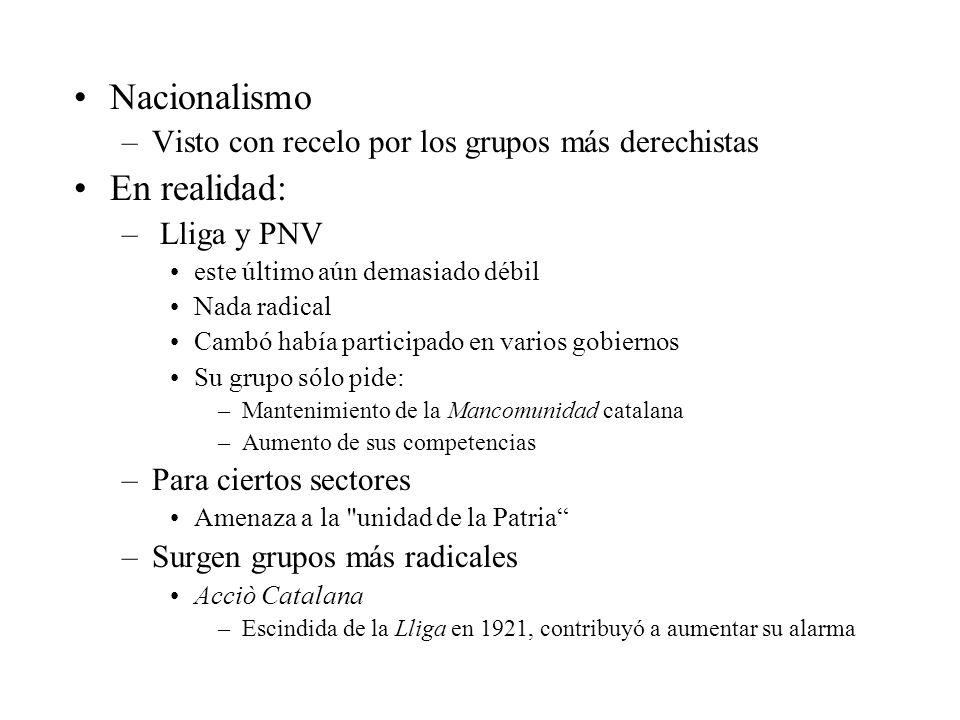 Nacionalismo En realidad:
