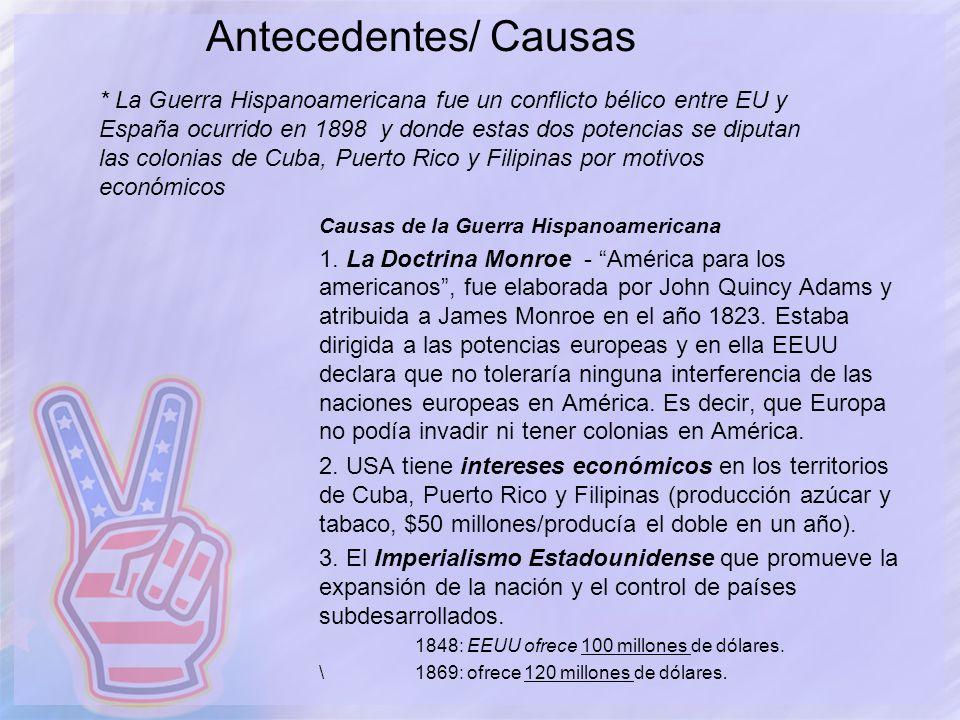 Antecedentes/ Causas