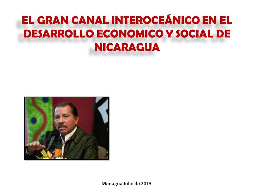 EL GRAN CANAL INTEROCEÁNICO EN EL DESARROLLO ECONOMICO Y SOCIAL DE NICARAGUA