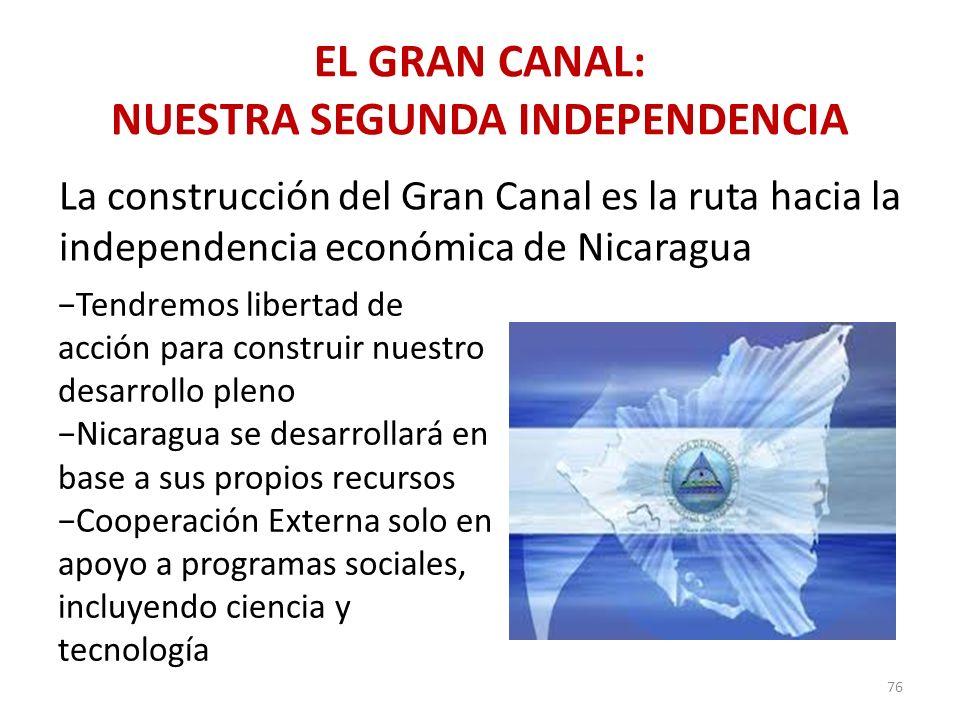 EL GRAN CANAL: NUESTRA SEGUNDA INDEPENDENCIA