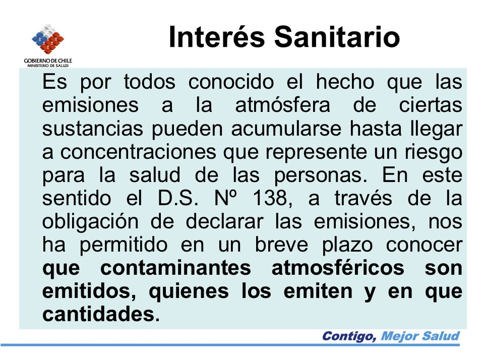 Interés Sanitario
