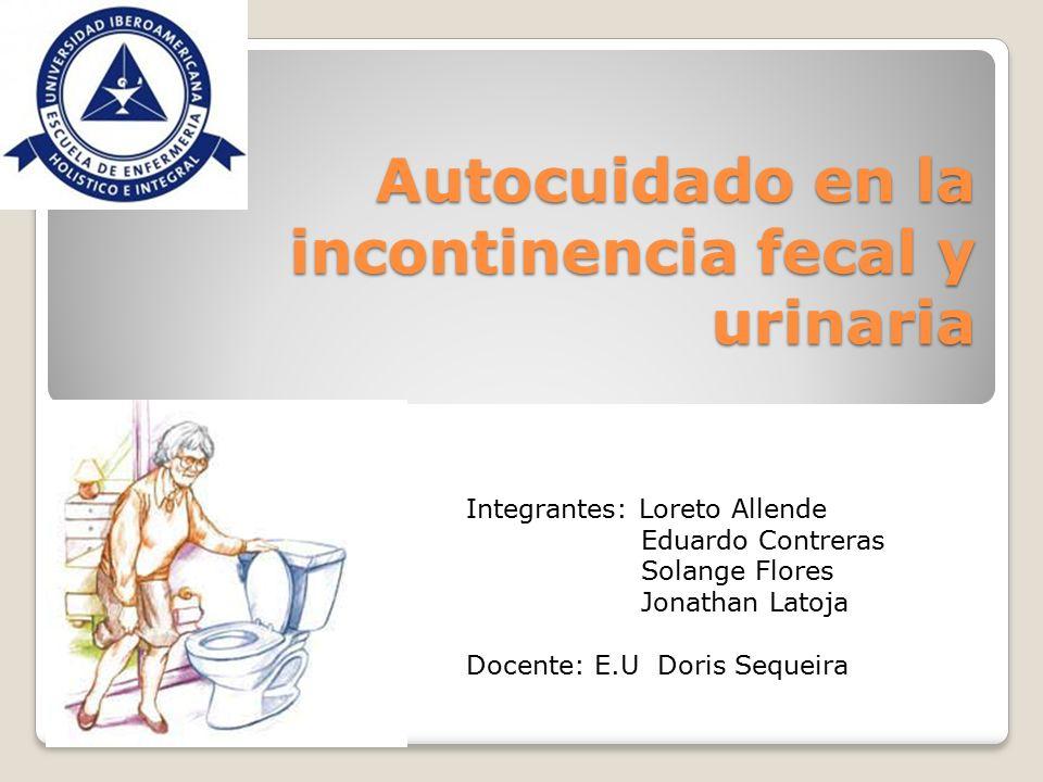 Autocuidado en la incontinencia fecal y urinaria