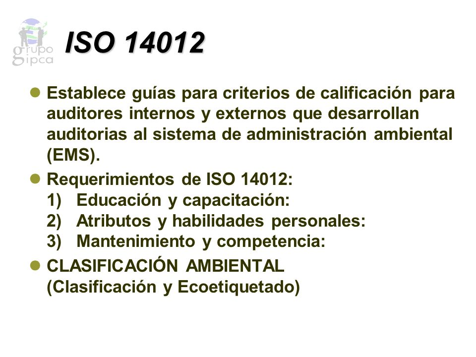 ISO 14012