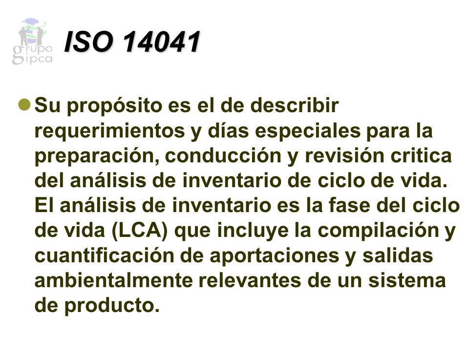 ISO 14041