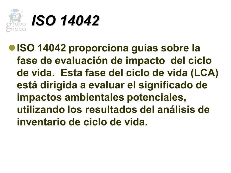 ISO 14042