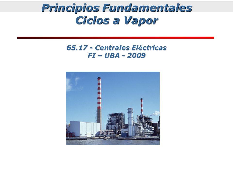 Principios Fundamentales Ciclos a Vapor