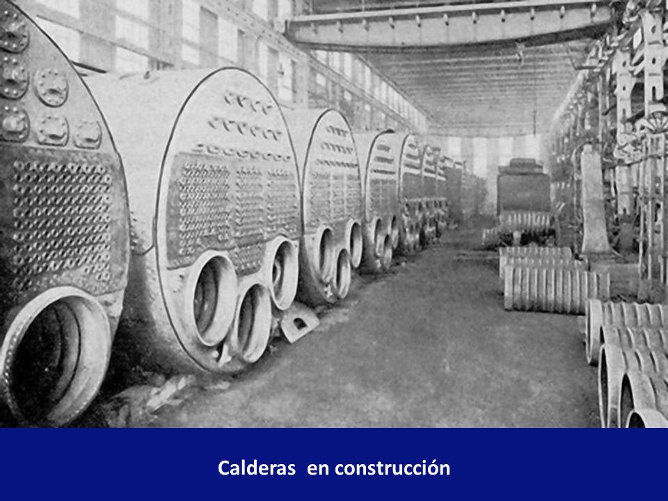 Calderas en construcción