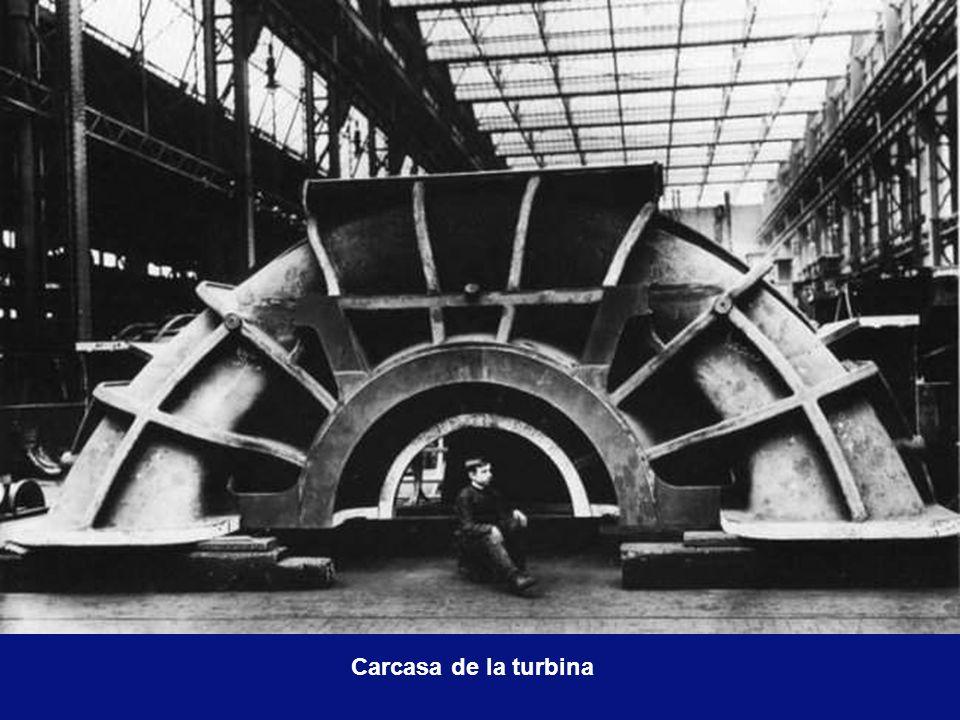 Carcasa de la turbina