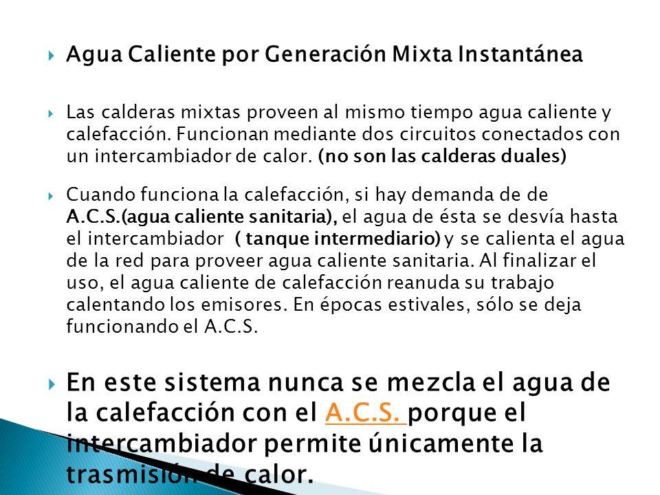 Provision de agua caliente ppt descargar - Caldera no calienta agua si calefaccion ...