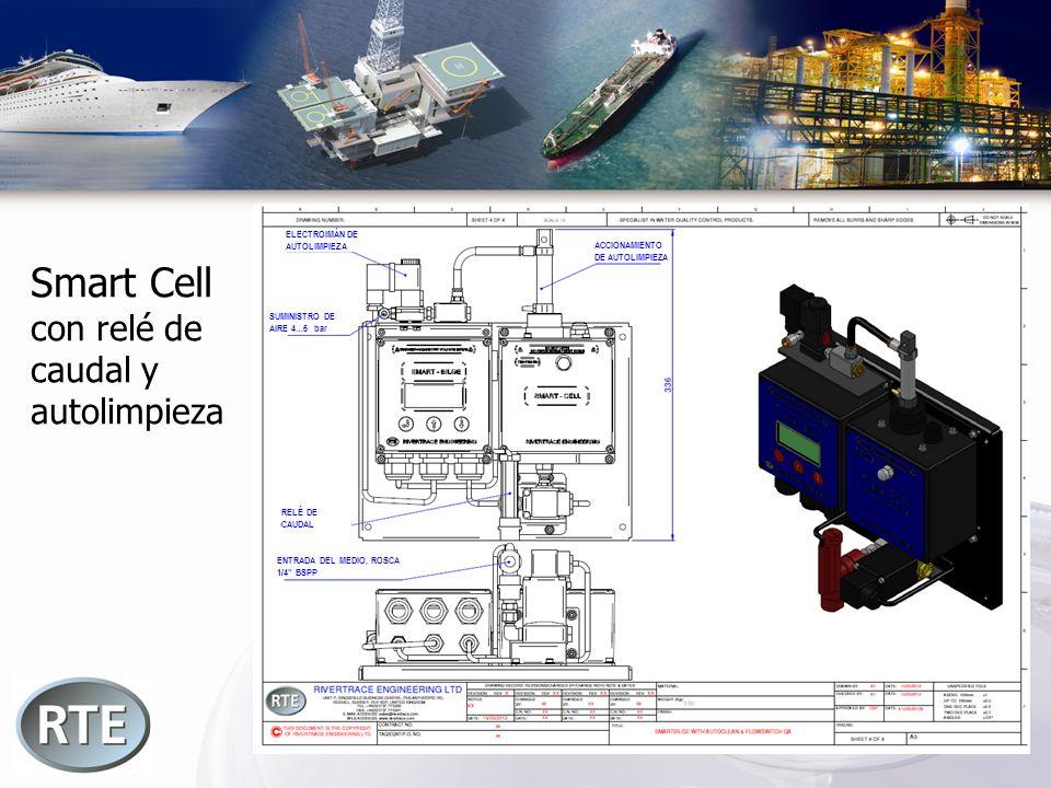 Smart Cell con relé de caudal y autolimpieza