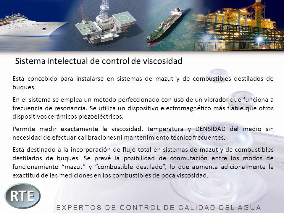 EXPERTOS DE CONTROL DE CALIDAD DEL AGUA