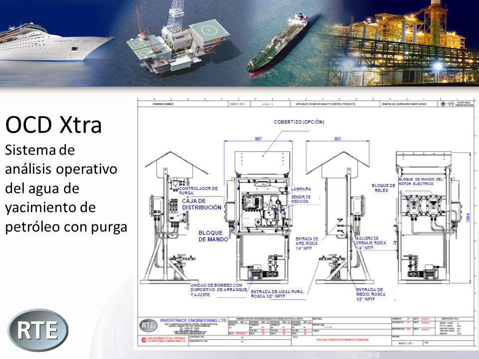 OCD Xtra Sistema de análisis operativo del agua de yacimiento de
