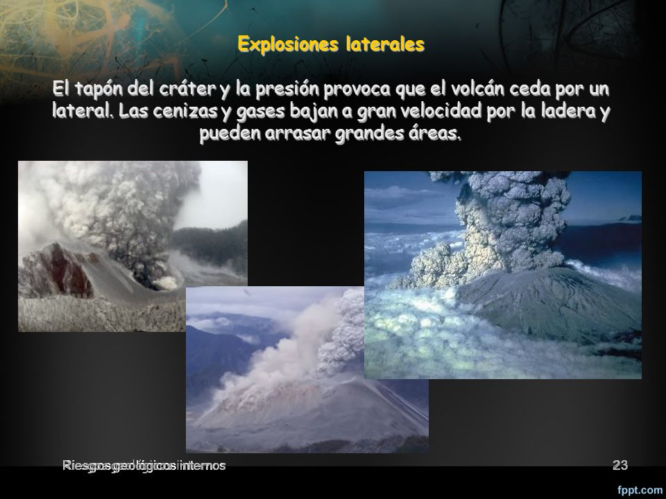 Explosiones laterales