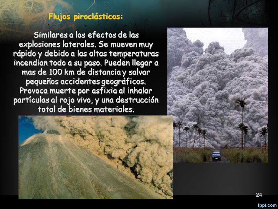 Flujos piroclásticos: