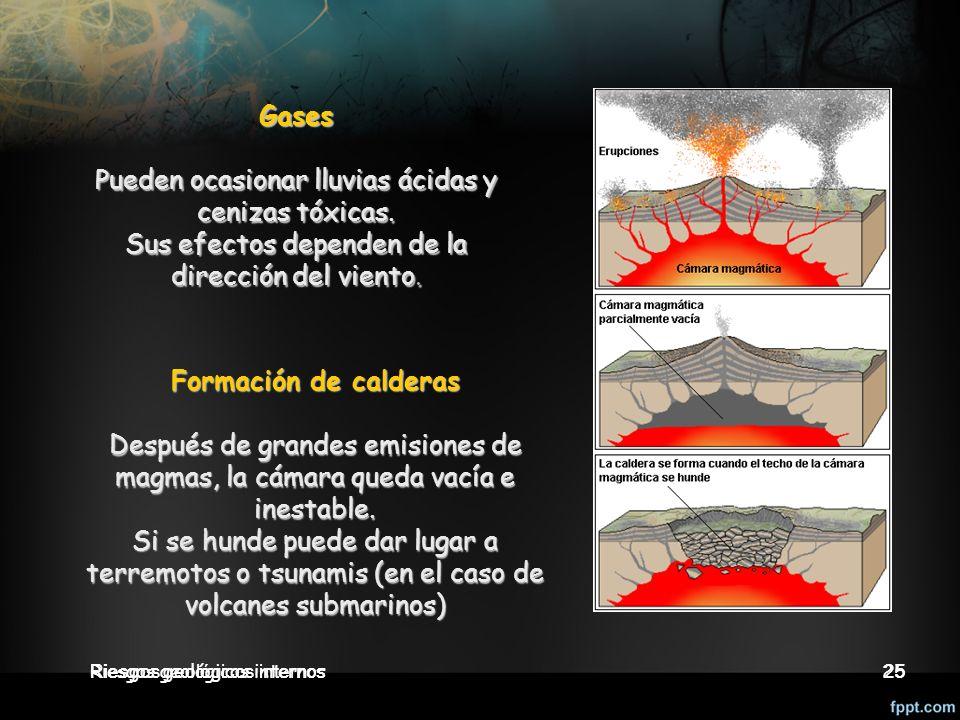 Gases Formación de calderas