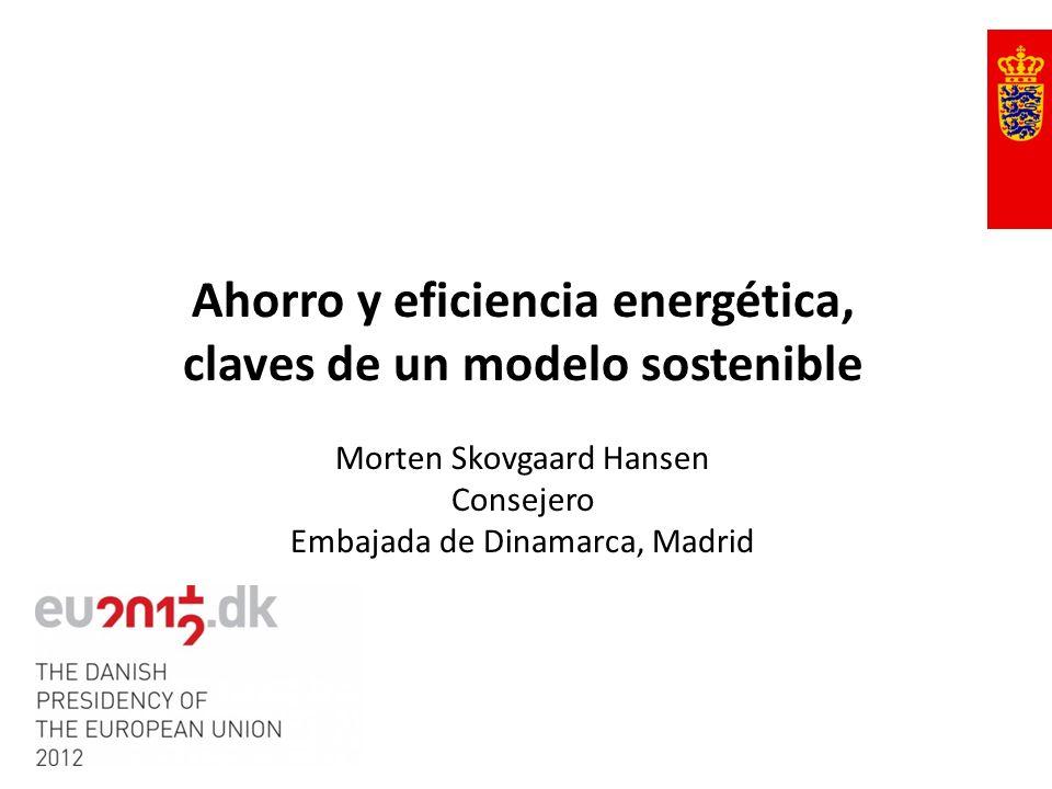 Ahorro y eficiencia energética, claves de un modelo sostenible