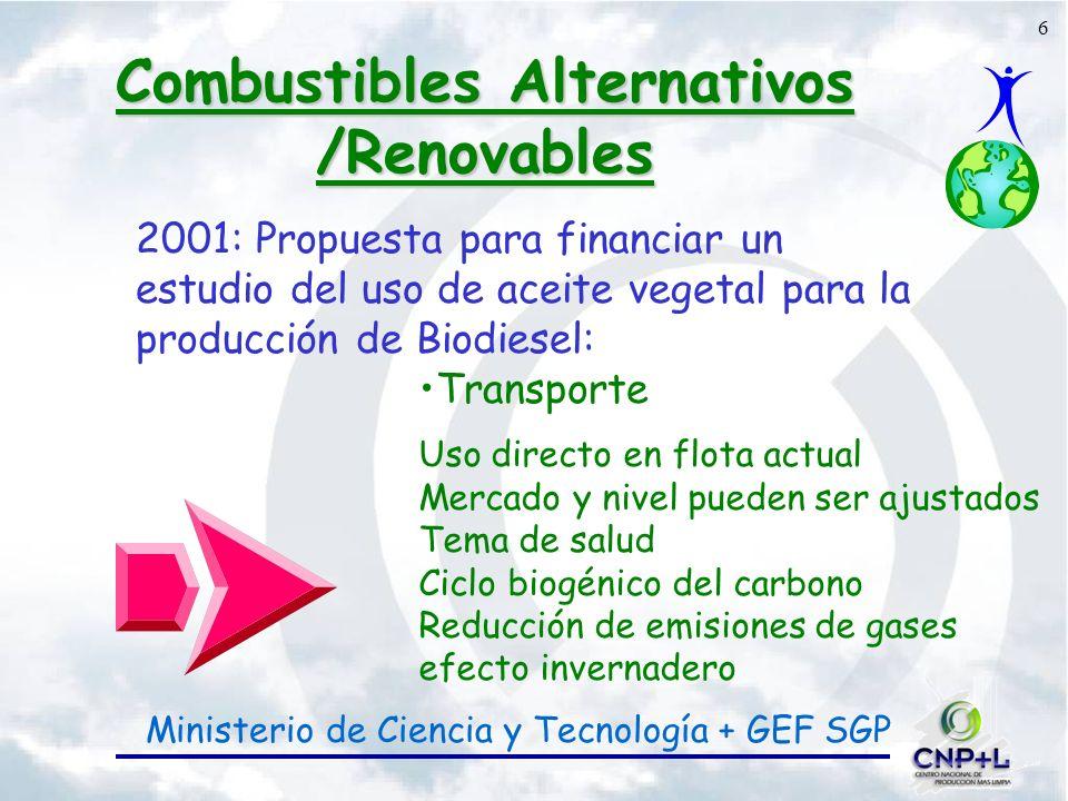 Combustibles Alternativos /Renovables