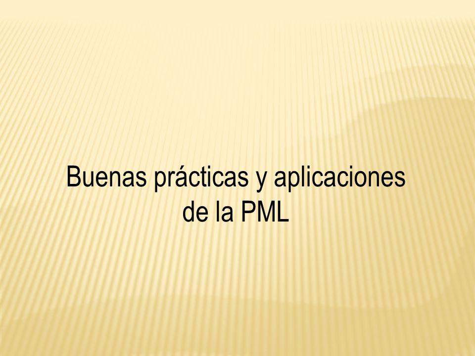 Buenas prácticas y aplicaciones de la PML
