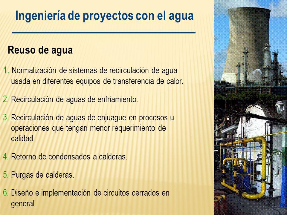 Ingeniería de proyectos con el agua