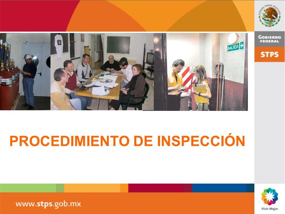 PROCEDIMIENTO DE INSPECCIÓN