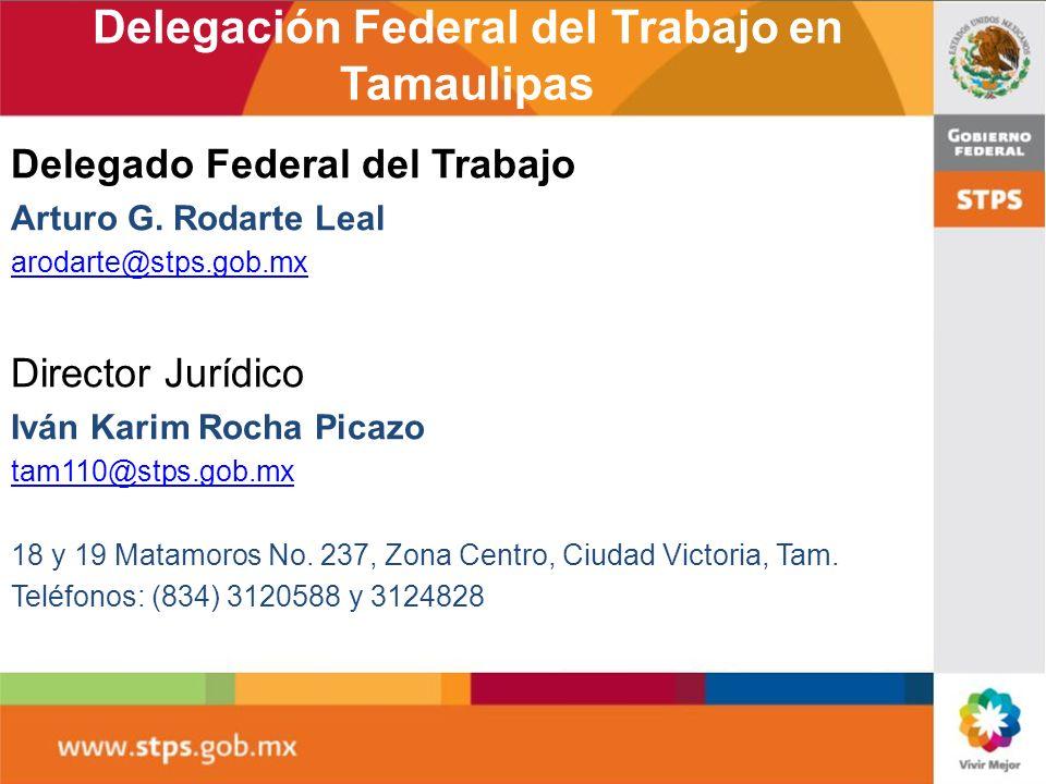 Delegación Federal del Trabajo en Tamaulipas