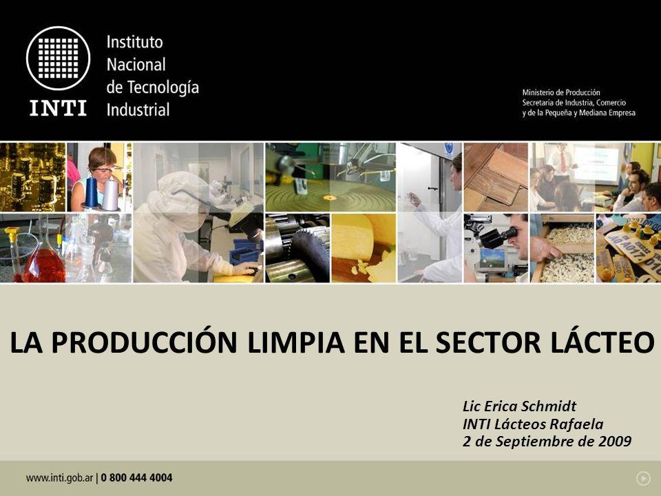 LA PRODUCCIÓN LIMPIA EN EL SECTOR LÁCTEO