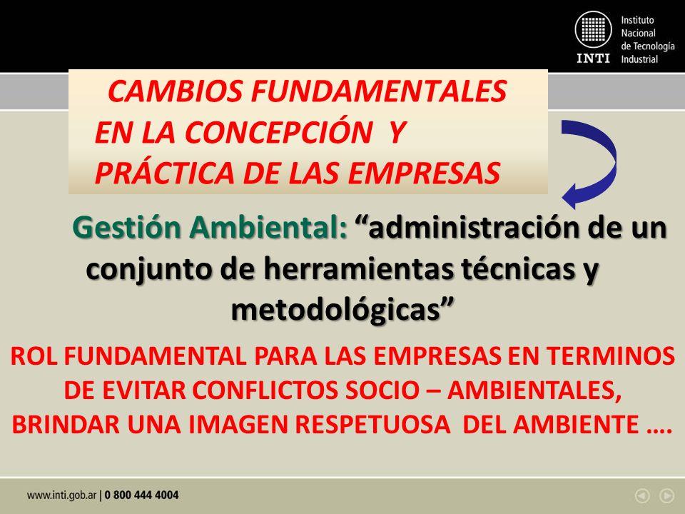 CAMBIOS FUNDAMENTALES EN LA CONCEPCIÓN Y PRÁCTICA DE LAS EMPRESAS