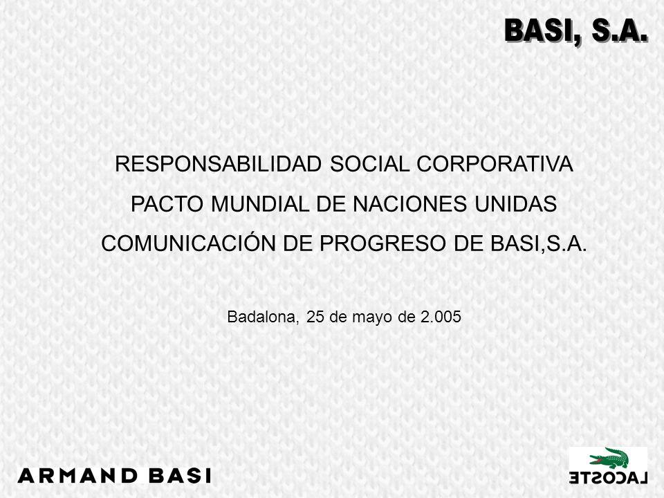 RESPONSABILIDAD SOCIAL CORPORATIVA PACTO MUNDIAL DE NACIONES UNIDAS