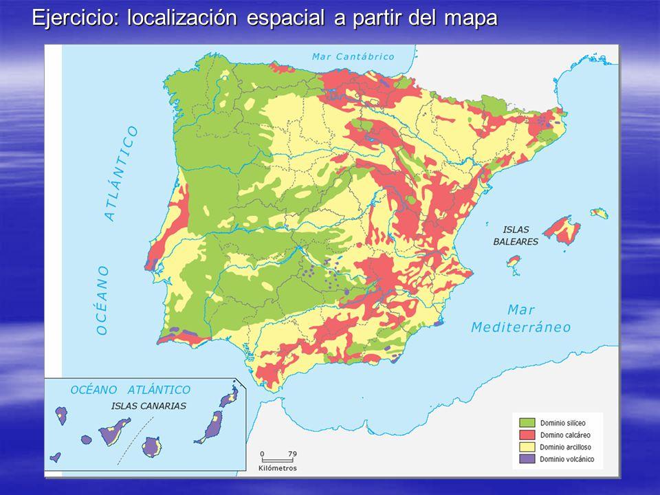 Ejercicio: localización espacial a partir del mapa