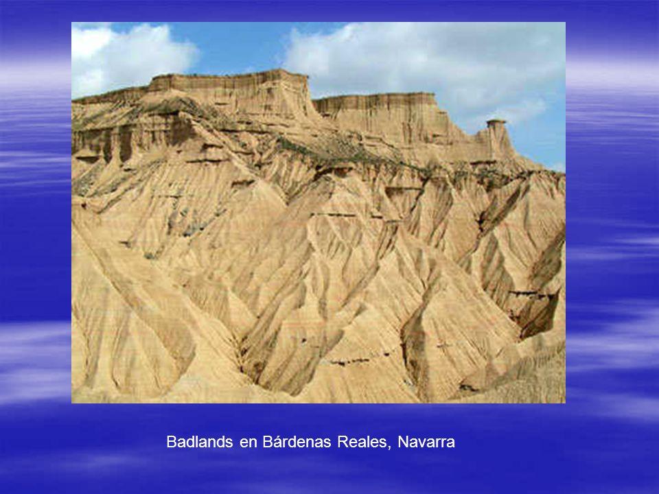 Badlands en Bárdenas Reales, Navarra