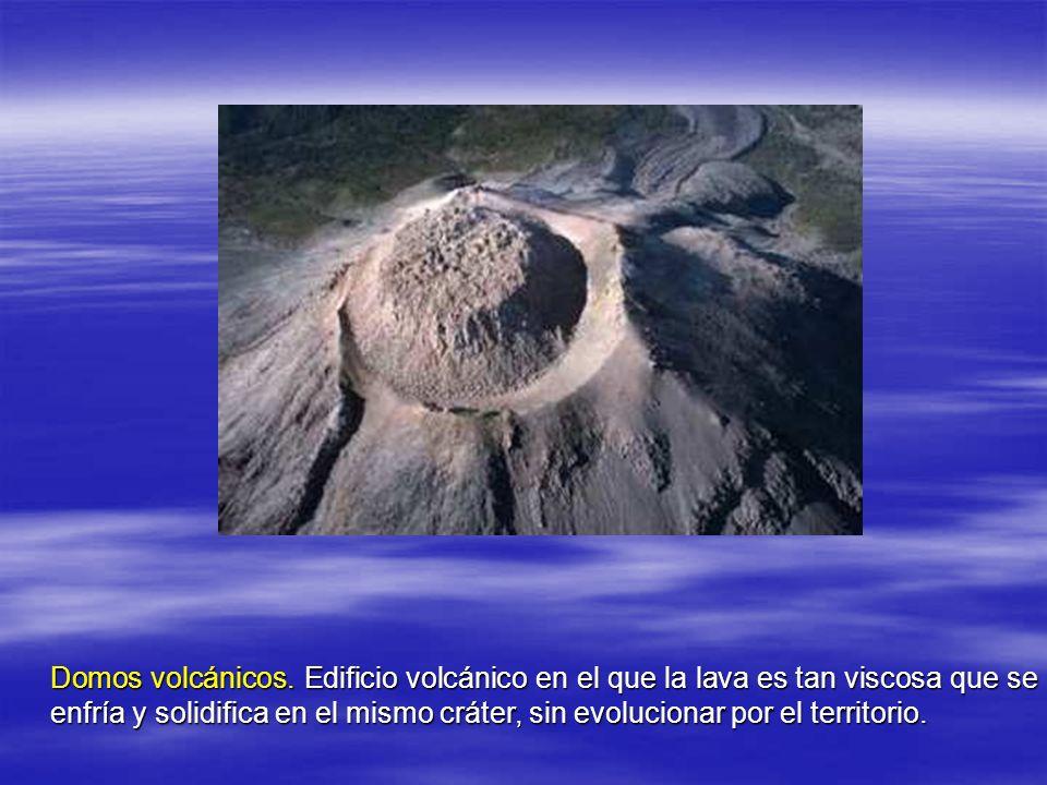 Domos volcánicos.