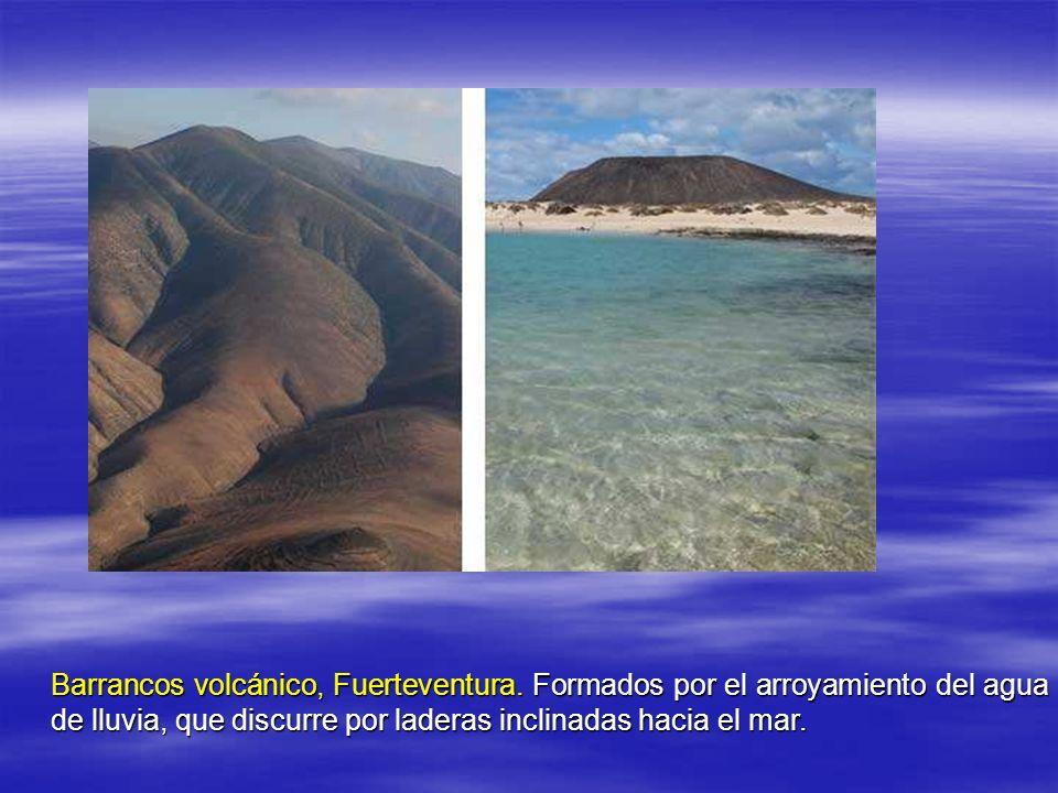 Barrancos volcánico, Fuerteventura