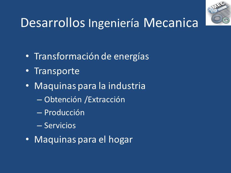 Desarrollos Ingeniería Mecanica