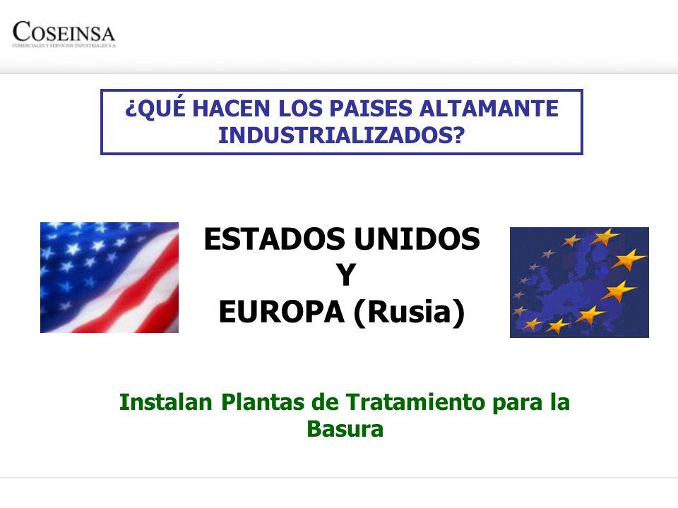 ESTADOS UNIDOS Y EUROPA (Rusia)