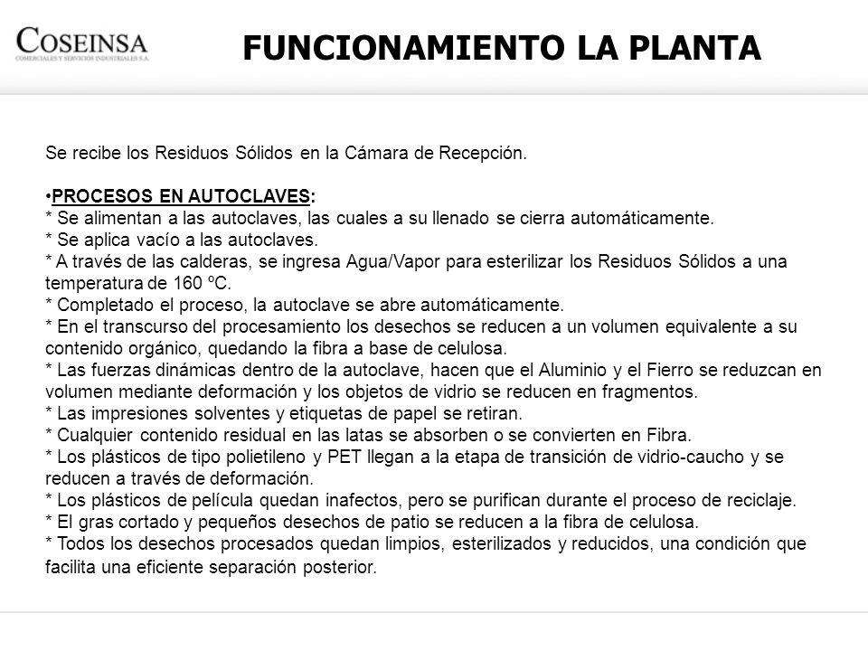 FUNCIONAMIENTO LA PLANTA