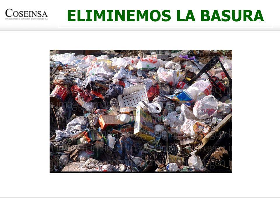 ELIMINEMOS LA BASURA