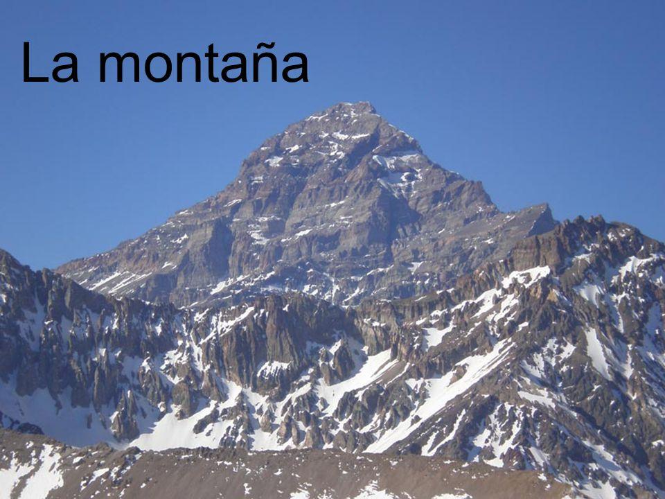 La montaña La montaña