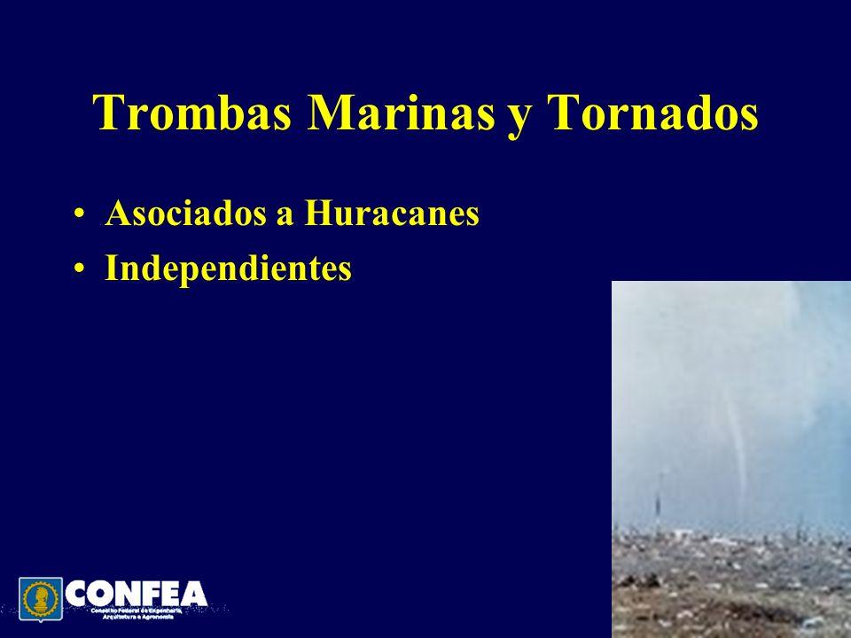 Trombas Marinas y Tornados