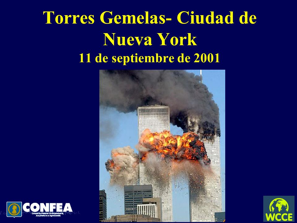 Torres Gemelas- Ciudad de Nueva York 11 de septiembre de 2001