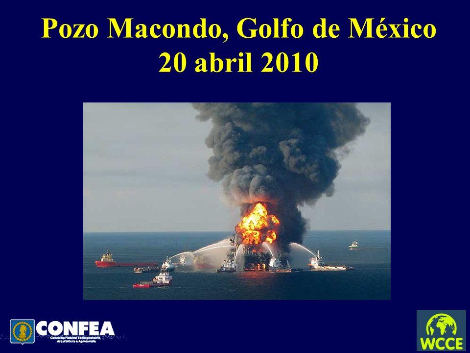Pozo Macondo, Golfo de México 20 abril 2010